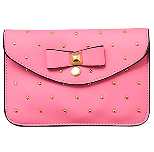 Josi Minea Beautiful & Elegant Leather Handbag  Shoulder Bag perfect for Casual Business & Evening Outing - Pink