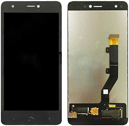 Mobile Phone LCD Screen Replacement LCD Screen and Digitizer Full Assembly for BQ Aquaris X//X Pro Black Color : Black