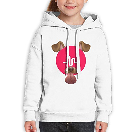 Karen R. Johnson Musically Girls Hoodies S White