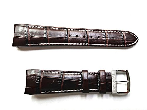 59-S51439 ORIGINAL GENUINE Citizen Chandler BROWN Leather Watch Band for Men's Eco-Drive Chronograph Watch AT0550-11X by Hurley Roberts Service Co.