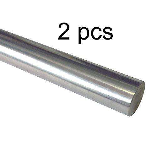 2pcs 8mm X 1 Meter Precision Chromed Linear Shaft Rod for 3d Printer CNC Oil