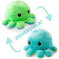 MABES WAREHOUSE Reversible Octopus Plush - Double-Sided Flip Octopus Plush Doll, Octopus Stuffed Animal Reversible Plush…