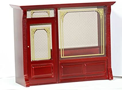 Amazon Com Dollhouse Miniature Sale Mahogany Store Room Box