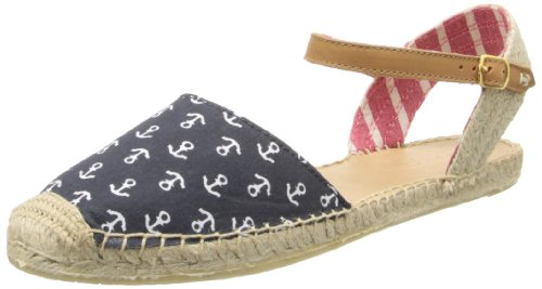 Sperry Top-Sider Women's Hope Navy Anchors, 7 M US (Sperry Sider Espadrilles Top)