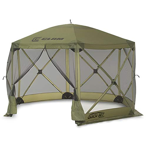 Quick Set 9281 Escape Shelter Popup Tent, 12 x 12, Green