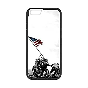 United States Marine Corps In Iwo Jima USMC Apple iphone 6 TPU (Laser Technology) Case, Cell Phone Cover