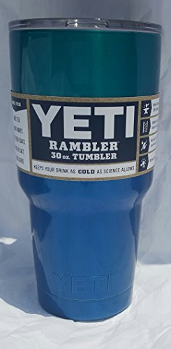 Yeti Rambler 30 Oz, Stainless Steel, Powder-coated, Custom Colors (Oceanspray)