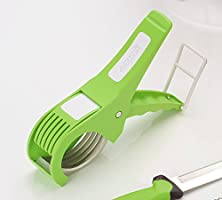 Amiraj Plastic Vegetable Cutter, White/Green
