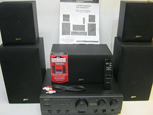 (Zenith Theater Audio System With 5 Speakers)