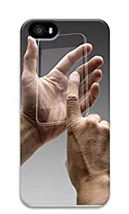 iPhone 5 5S Case Gestures Transparent Touch Screen 3D Custom iPhone 5 5S Case Cover Kimberly Kurzendoerfer