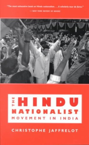 - [(The Hindu Nationalist Movement in India)] [By (author) Christophe Jaffrelot] published on (September, 1998)