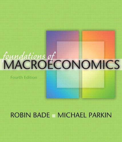Foundations of Macroeconomics, 4th Edition