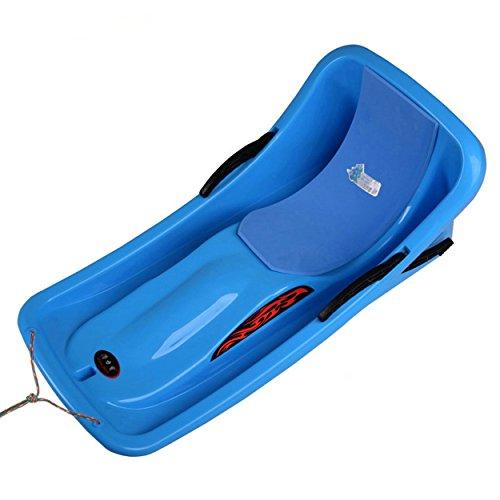 (Funkatron Kids Snow Sled Boat Sledge Toboggan Glider with Brakes Downhill Sprinter Winter Toboggan Snow Sled, 36
