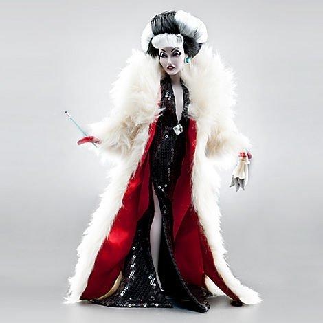 Cruella De Vil Disney Villains Designer Collection Doll -