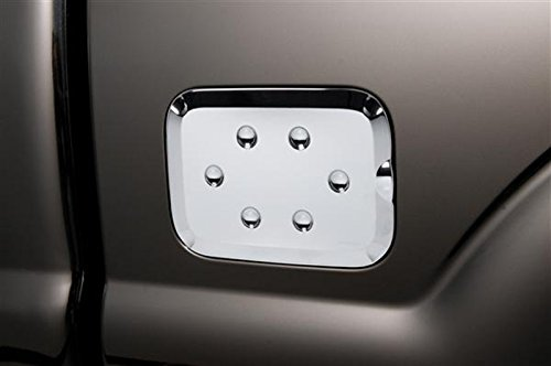 Chrome Abs Gas Fuel Door - Upgrade Your Auto Putco Chrome ABS Gas Door Cover for 2011-2015 Ford F250/F350 Super Duty