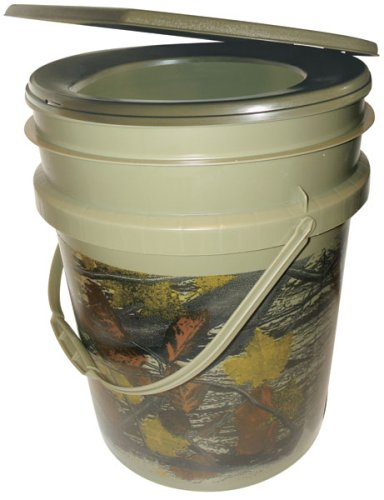 Reliance Products Hunter's Loo Portable 5 Gallon Camouflage Toilet by Reliance Products