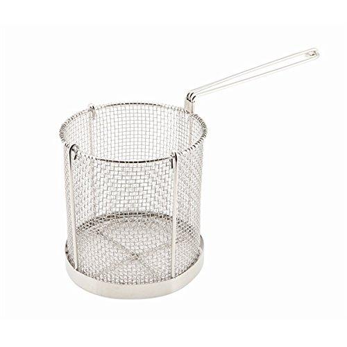 Genware Nev-spb15 Spaghetti Panier, Acier inoxydable, 15 cm x 16 cm de diamè tre 15cm x 16cm de diamètre