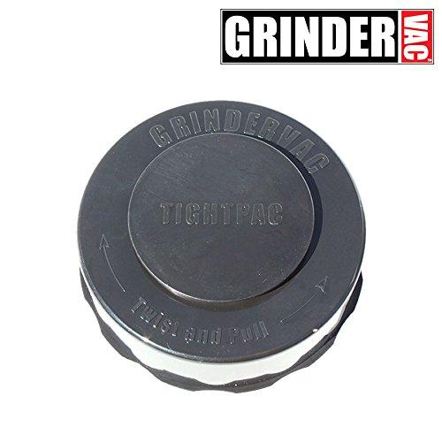 TIGHTVAC - GRINDERVAC – Vacuum Sealed Container and Grinder - Black