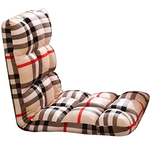 Lazy Sofa Chair Lounger, Modern Chaise Lounge Chair, Folding Cushion Chair Bed, Comfortable and Foldable Sofa Bed Chair, Cozy Sofa for All Ages (Best Tv Doorbuster Deals)