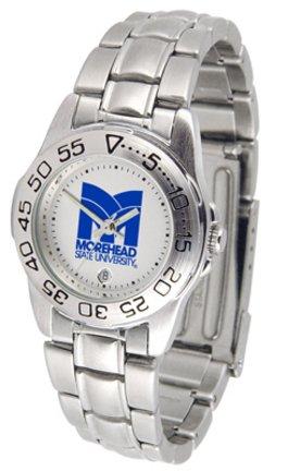 Morehead State University Eagles - Ladies' Sport Steel Watch