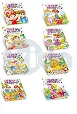 Etkinlik Boyama Kitabı 8 Kitap Set 9786059656436 Amazoncom Books
