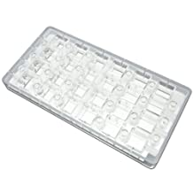 Fat Daddios Chocolate Mould - Magnetic - Square - Angled