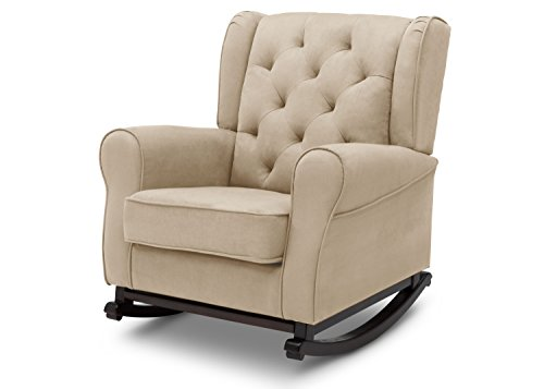Delta Furniture Emma Upholstered Rocking Chair, Ecru by Delta Furniture (Image #3)