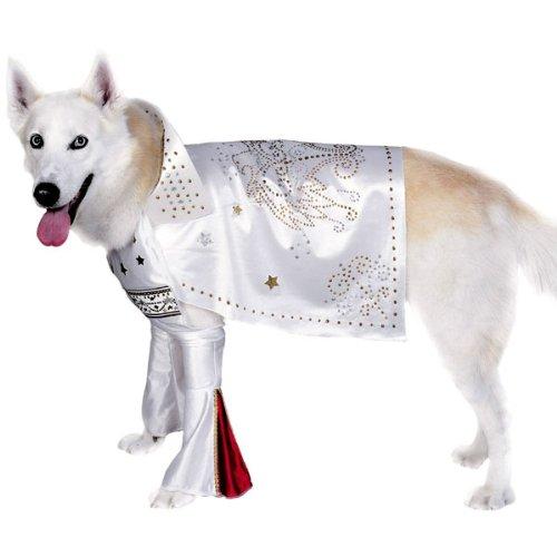 [Elvis Superstar Dog Costume Size Medium] (Elvis Costumes Cape)