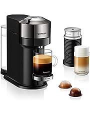 Nespresso® Vertuo Next Premium Coffee and Espresso Machine by Breville with Aeroccino, Dark Chrome