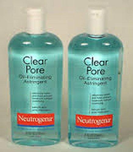 Neutrogena Oil-Eliminating Astringent Clear Pore 8 fl oz (Pack of 2) ()