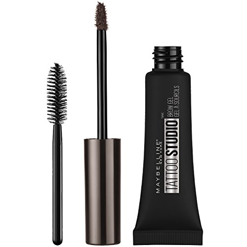 Maybelline Makeup TattooStudio Waterproof Eyebrow Gel, Deep