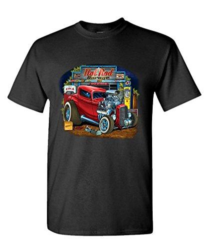 HOT ROD GARAGE muscle T Shirt