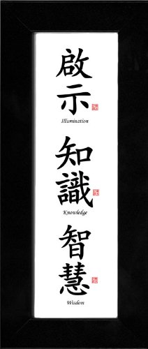 Black Frame 4x12 - Illumination, Knowledge & Wisdom
