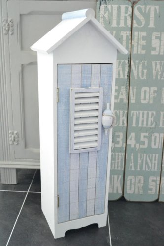 Nautical Style Beach House Cabinet Cupboard Bathroom Storage & Nautical Style Beach House Cabinet Cupboard Bathroom Storage: Amazon ...