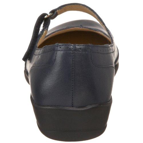 A Dessiné La Chaussure Isabel Navy Leather