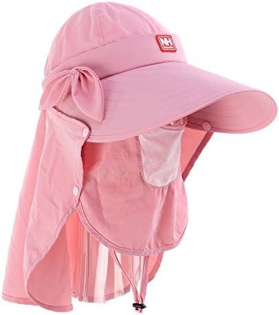 Sunnyhillレディース速乾性キャップ日焼け止めキャップ紫外線対策帽子Sunhatアウトドアサンシェード折りたたみ帽子