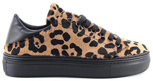 Sneakers Femme Sneakers Pinko 1h20cj Dobbiaco 1 Cze Beige Noir Nouveau Cavallino