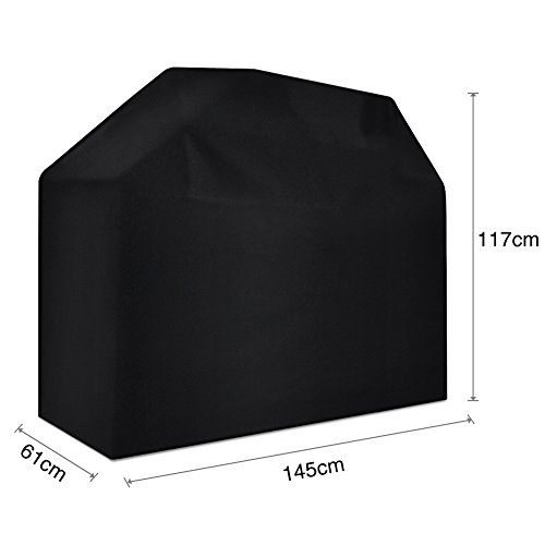 Nasharia Grill Cover,Waterproof BBQ Cover with Sealed Seam,Heavy Duty Waterproof Barbecue Gas Grill Cover for Most Brands of Grill, Special Fade and UV Resistant Material, Waterproof Weather Resistant