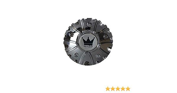 Mazzi 351 Hype Wheels C10351B 12112085F-4 Black and Machined Center Cap