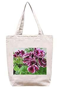 Marta Washington geranio en mi jardín - algodón de totalizador de la lona bolsa