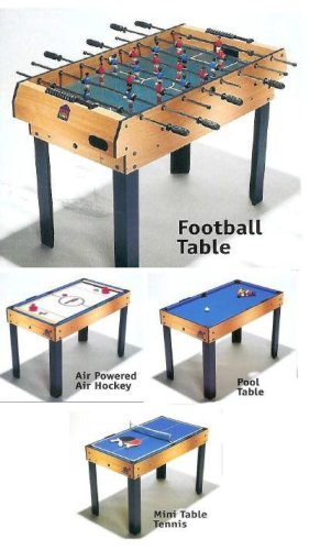 4 In 1 Multi Games Table   Pool, Air Hockey, Table Tennis U0026 Tanle