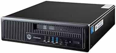 HP ProDesk 600 G1 SFF Slim Business Desktop Computer, Intel i5-4570 up to 3.60 GHz, 8GB RAM, 500GB HDD, DVD, USB 3.0, Windows 10 Pro 64 Bit (Renewed) (8GB RAM | 500GB HDD)