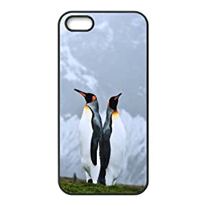 [Tony-Wilson Phone Case] For Apple Iphone 5 5S -IKAI0447915-Penguins Pattern