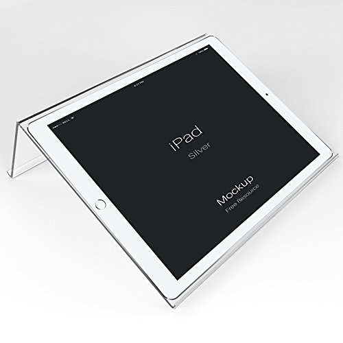 Ipad Stand for Desk,Clear Square Stand for Ipad, Acrylic Tablet Stand Holder - SupperAcrylic