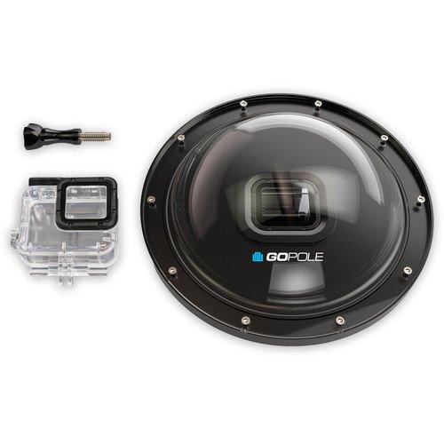 GoPole Dome H5 – 6″ Dome Port for GoPro HERO5 Black