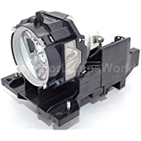 DT00871 Hitachi Projector Lamp Replacement. Projector Lamp Assembly with High Quality Genuine Original Ushio Bulb Inside.