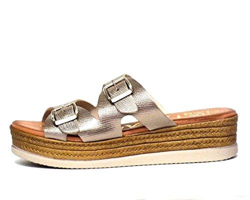 Sandalia hebillas Oh! my Sandals 3653 Cava