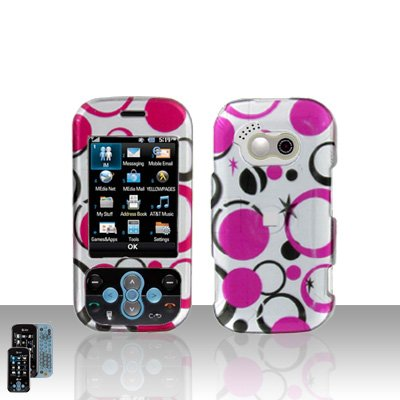 - Pink Polka Black Dot Snap on Hard Cover Protector Faceplate Skin Case for AT&T LG NEON GT365 + Belt Clip (Ship in Cardboard box)