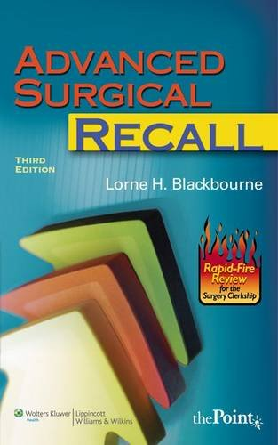 Advanced Surgical Recall (Recall Series) by Brand: LWW
