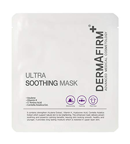 Dermafirm Ultra Soothing Mask with Azulene, 5 sheets